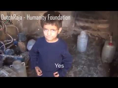 THIS IS HUNGER: SYRIAN CHILD STRUGGLING TO SURVIVE