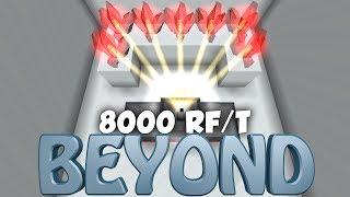 8000 RF/T CRYSTAL! *DEEP RESONANCE* - Minecraft Beyond [#25] - FTB Beyond Modpack