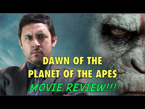 DAWN OF THE PLANET OF THE APES MOVIE REVIEW!!!
