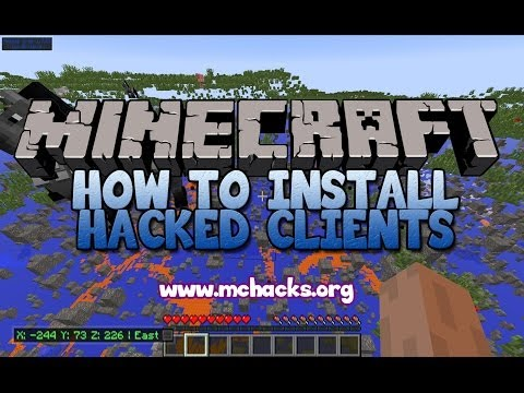 How to install hacked clients for Minecraft (Nodus 1.7.2)