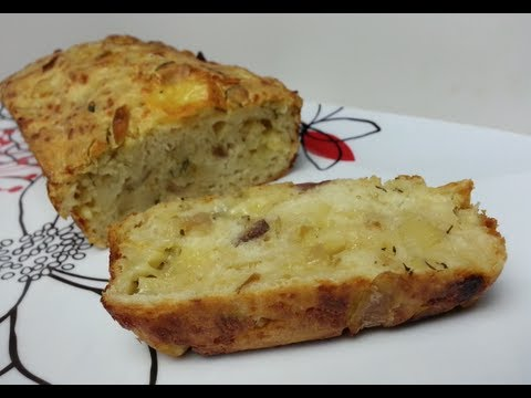 HOW TO MAKE CHEESY HERB & POTATO BREAD