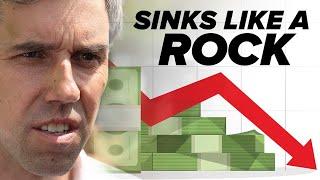 Panel: Beto sinks like a rock in fundraising