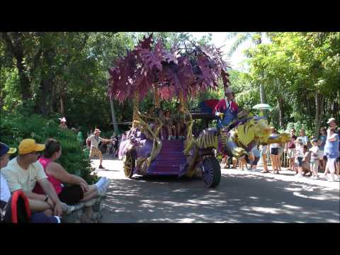 Mickey's Jammin' Jungle Parade, Animal Kingdom, Walt Disney World HD (1080p)