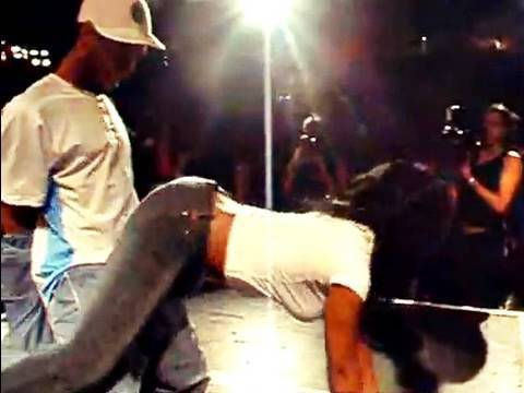 Dancers Wear Out Guy in Booty Dance Contest