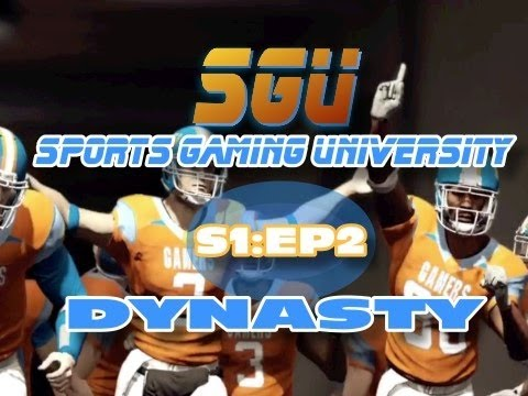 NCAA 12 Dynasty ft. the SGU Gamers: EP 2
