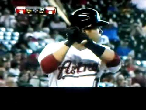JOSE ALTUVE DEBUTANDO EN LA MLB