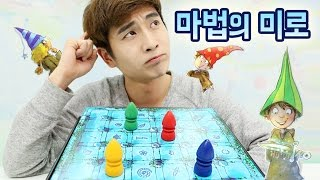 Magic Labyrinth board game showdown Kevin   CarrieAndPlay