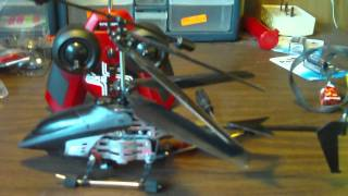 modded intercepter 052 rc helicopter by interactive toys.MOV