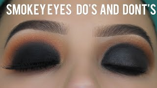 Smokey Eyes Do's and Dont's Tutorial!