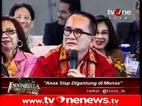 indonesia lawyers club Ruhut vs Hotman
