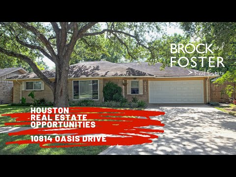 Houston Homes For Sale, 10814 Oasis Drive, Houston,TX 77096