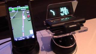 Hands on with the Garmin HUD+ at CES 2014
