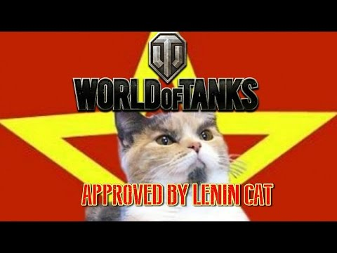 World of Tanks Approved by Lenin Cat