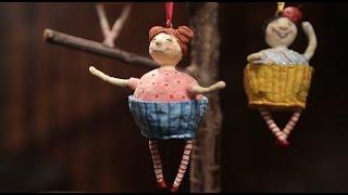 «Ручная работа». Забавная подвеска-кекс (28.09.2016)