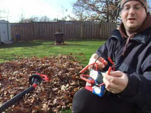 Leaf Blower With Lithium Batteries !