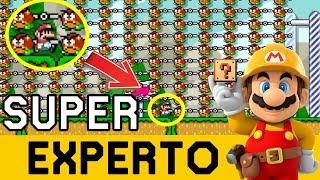 EL TERROR APARECE DENUEVO !! - SUPER EXPERTO NO SKIP | Super Mario Maker - ZetaSSJ