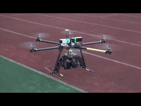 OFM Brute H1200 Giant hexacopter for DSLR and Aerial filming