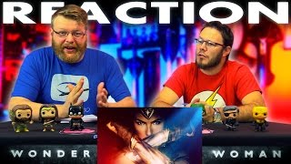 Wonder Woman Official Trailer REACTION!!