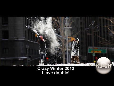 parkour КЛАН | Crazy winter 2012 - I love double!