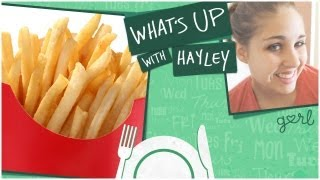 McDonald's Fries vs. Burger King Fries - What's Up With Hayley