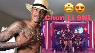 Nicki Minaj Snl Chun Li Performance Reaction