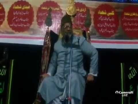 Azadari Channel's Live Majlis At Maghribi Imambargah on 6th mohrram 1438 hijri