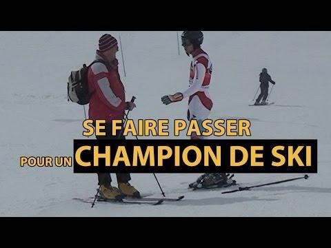 DEFI: Se faire passer pour un champion de ski