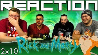 "Rick and Morty 2x10 REACTION!! ""The Wedding Squanchers"""