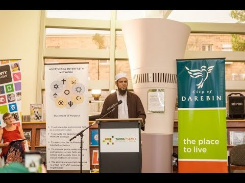 Mufti Aasim Rashid on interfaith - Part 1 of 2