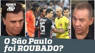 O São Paulo foi ROUBADO contra o Corinthians? Veja DEBATE!