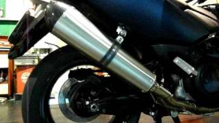 GPR Full Exhaust System for TMAX.AVI