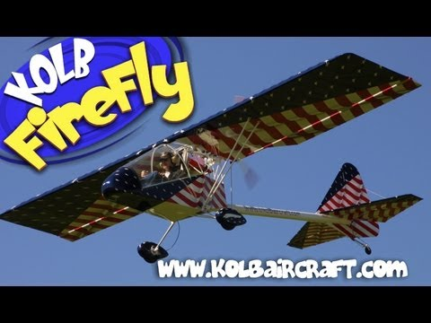 Kolb Aircraft, Kolb FireFly part 103 legal ultralight aircraft.