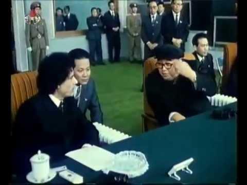 Muammar Gaddafi's visit to North Korea