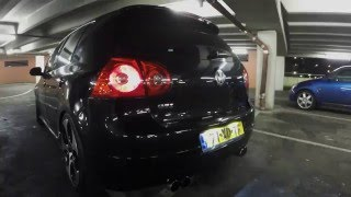 Golf 5 GTI 2.0 Turbo Downpipe + Neuspeed exhaust sound