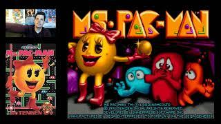 Ms. Pac-Man (Sega Genesis) Mike Matei live stream