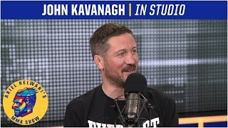 John Kavanagh is happy with Conor McGregor's motivation to fight [FULL] | Ariel Helwani's MMA Show