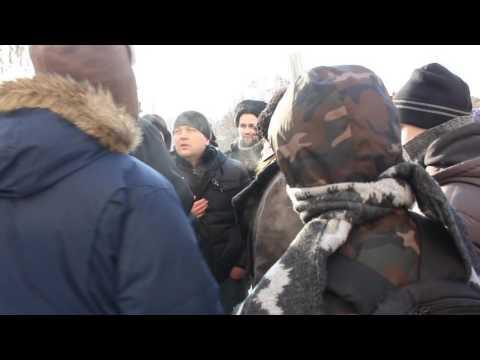 Провокация на Русском марше