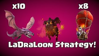Lava + Dragon + Balloon : TH11 STRONG TROPHY PUSH ATTACK STRATEGY/LaDraLoon STRATEGY: CLASH OF CLANS