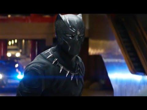 Captain America 3: Black Panther Chase | Audi commercial (2016) Chris Evans Sebastian Stan