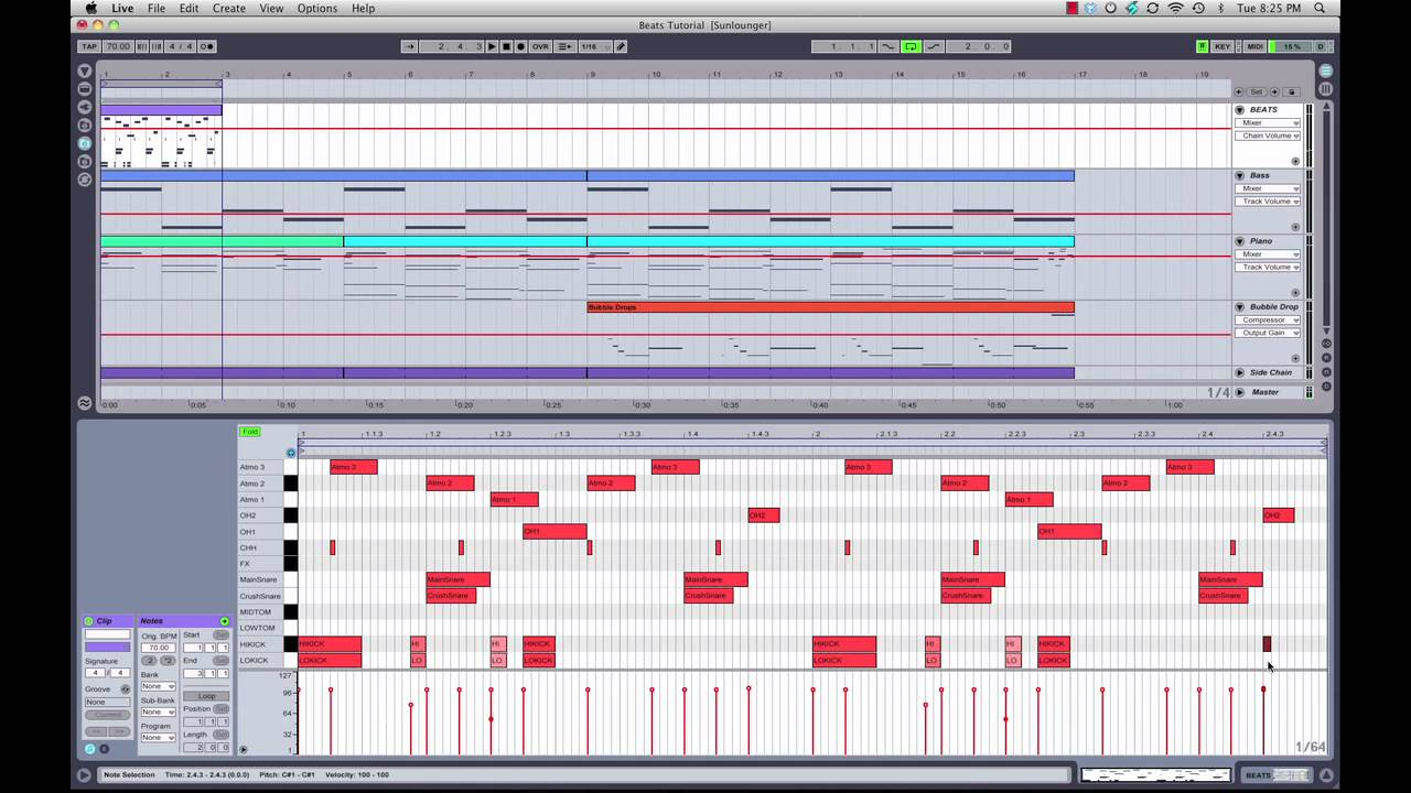 MIDI drum patterns made EASY in Ableton Live with drum ...