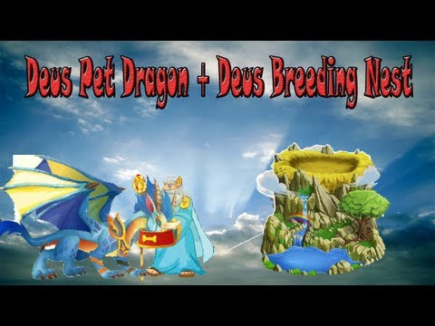 Deus Dragon Pet + Deus Breeding Net - Como conseguirlos - Starter Pack