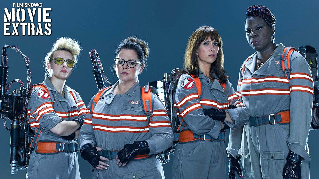 Ghostbusters 'Characters: Abby, Erin, Holtzmann & Patty' Featurette (2016)