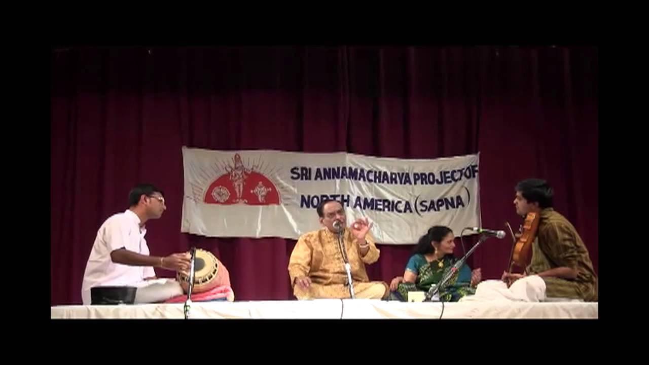 Sri annamacharya project of n a sapna 25th anniv dr for D murali krishna ias