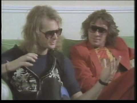 Dave Lee Roth/ Angus Young Interview Donnington.mpg