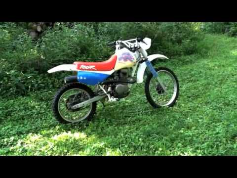 1994 Honda XR100 Dirt Bike - YouTube