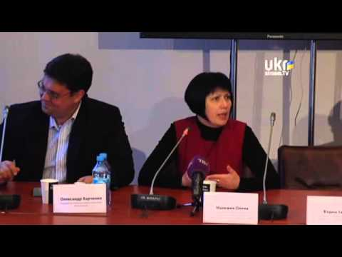 "Roundtable ""How to get rid of Russian gas"". Ukrainian Сrisis Media Center. April 30, 2014"
