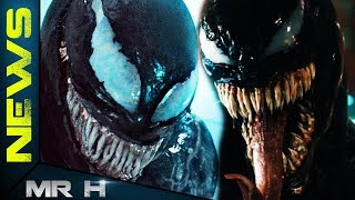 VENOM SYMBIOTE & Tom Hardy's Eddie Brock New Images