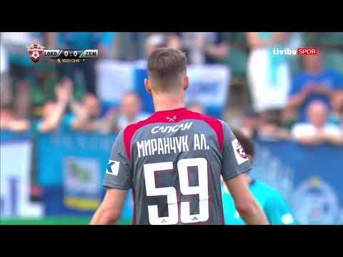 Rusya Ligi 29. Hafta | Lokomotiv Moskova 1-0 Zenit Maç Özeti