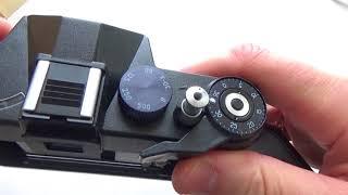 ZENIT ET 35 mm SLR Film Camera M42 mount body only #9113001