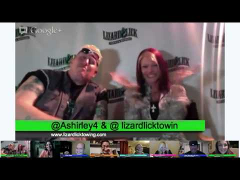 #CMchat Twangout with Amy & Ron Shirley from Lizard Lick Towing